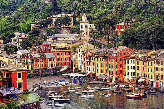 40 x 60 Portofino Itlay by Paul James