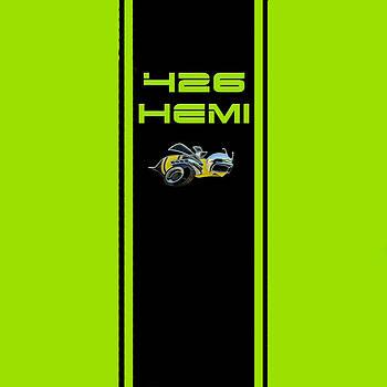 426 Hemi Ii by Sennie Pierson