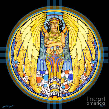 48x48 Egyptian Angel by Dia T