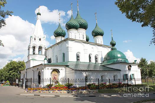 Ancient church by Evgeny Pisarev