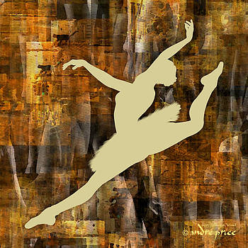 Ballerina Silhouette - Ballet Move 6 by Alfred Price