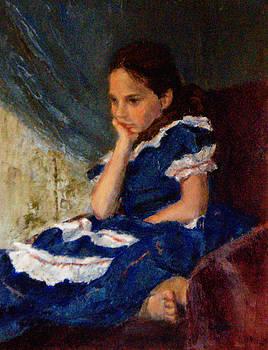 Chisho Maas - Blue Dress