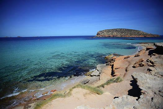 Cala Conta Beach In Ibiza by Nano Calvo