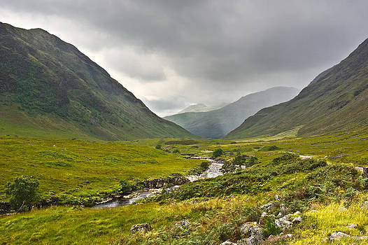 Jane McIlroy - Glen Etive Scotland