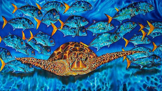 Daniel Jean-Baptiste - Sea Turtle and Jacks
