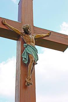 Jesus Christ crucifix by Borislav Marinic