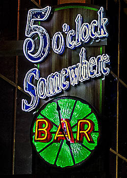 5 O'Clock Somewhere by Joie Cameron-Brown