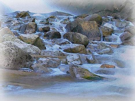 Rocky Coast by Philip White