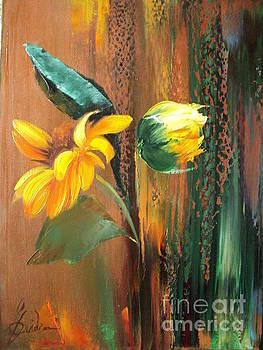 Sunflowers by Nelu Gradeanu