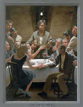 5. The Last Supper / from The Passion of Christ - A Gay Vision by Douglas Blanchard