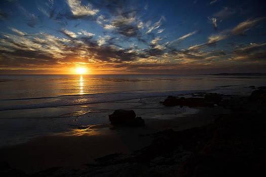 west coast San Simeon california by Jose M Beltran