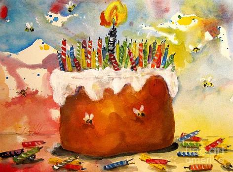 50 candles The Big B Day by Delilah  Smith