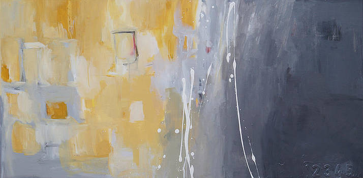 50 Shades of Gray and Yellow by Julie Ahmad
