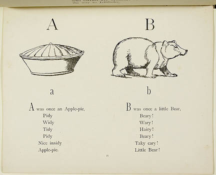 Nonsense Alphabets By Edward Lear by British Library