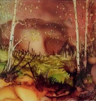 #534 Trio Landscape by Linda Skibinsky