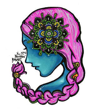54 - Flowers in my Hair by Maggie Nancarrow