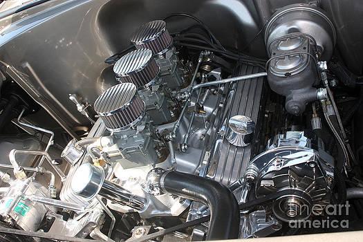 Gary Gingrich Galleries - 55 Bel Air Engine-8202