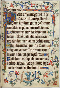 Luttrell Psalter by British Library