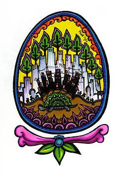 55 - Turtle Egg by Maggie Nancarrow