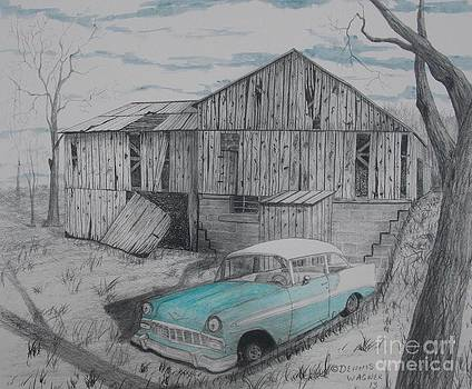 56 Chevy Barn by Dennis Wagner