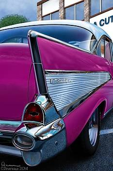 '57 Chevy by Chuck Devereaux Art