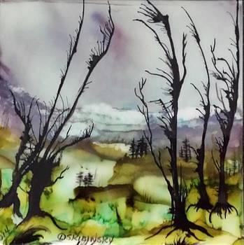 #573 Dazzling Lands by Linda Skibinsky