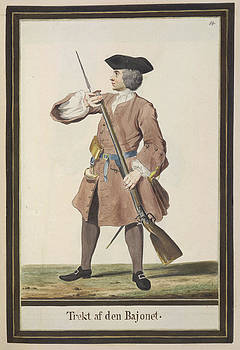 Dutch Military Costurmes And Musket Exerc by British Library