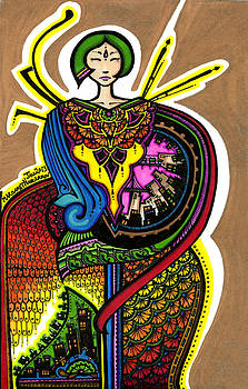 58 - Priestess by Maggie Nancarrow