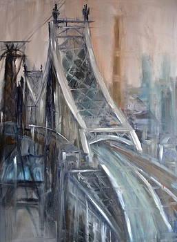 59th Street Bridge by Michael  Accorsi