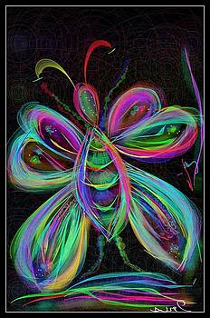 Butterfly by Mona  Bernhardt-Lorinczi
