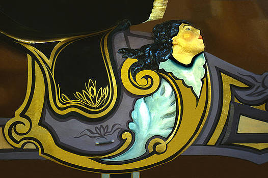 Carousel horse saddle by Jim  Wallace
