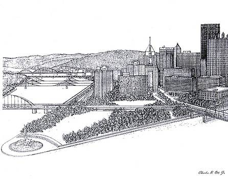 City of Pittsburgh by Charles Ott