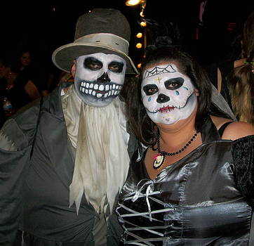 Day of the dead by Peggy Carroll