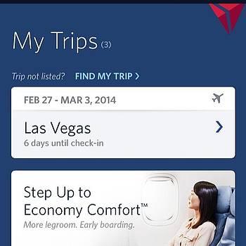 6 Days Till Vegas. #legroom by The Fun Enthusiast