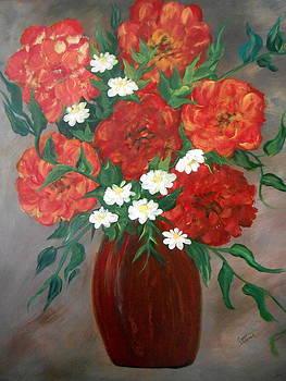 6 Flowers by Cynthia Amaral