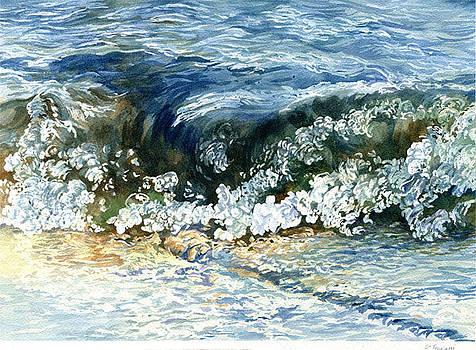 6 Inch Tsunami Lake Joseph by Nola McConnan