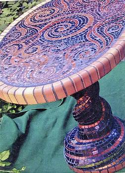 Charles Lucas - Mosaic table top