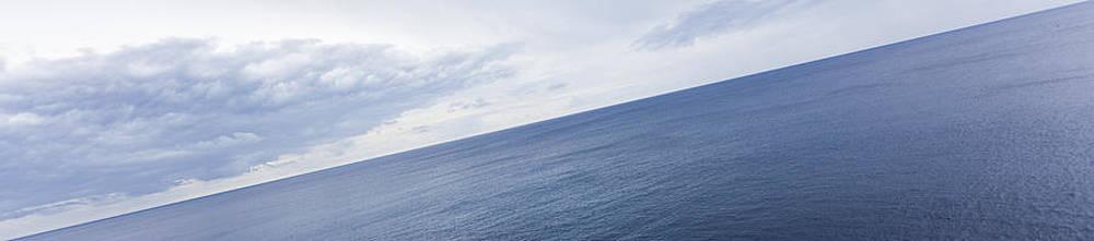 Sky Clouds And Sea by Antonio Macias Marin