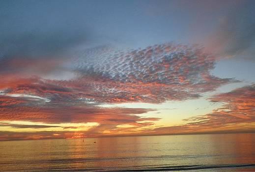 Sunset at Redondo by Marian Jenkins