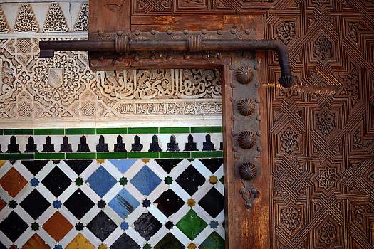 The Alhambra Of Granada by Nano Calvo