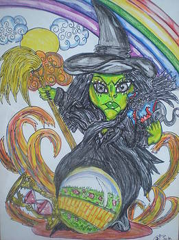 #6 The Wicked Witch Of West by Terri Allbright