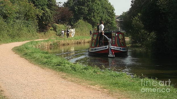 Tiverton Barge Horse by John Williams