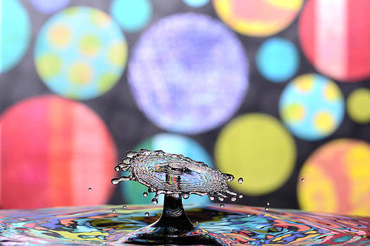 Water Droplet Collision by Micah Flack