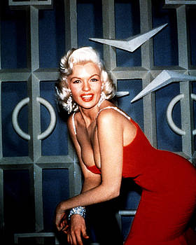 Jayne Mansfield by Silver Screen