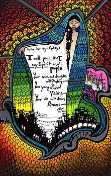 62 - Pour Out My Spirit by Maggie Nancarrow