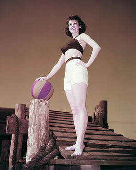 Ava Gardner by Silver Screen