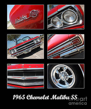 Gary Gingrich Galleries - 65 Malibu SS Poster