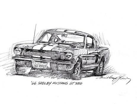 David Lloyd Glover - 66 Shelby 350 GT