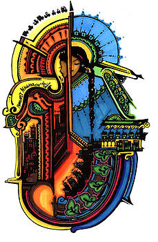 69 - Clocktower by Maggie Nancarrow