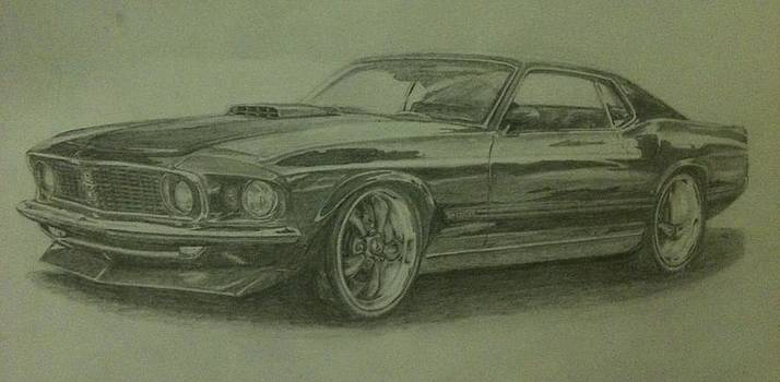 69 Mach 1  by Frankie Thorpe